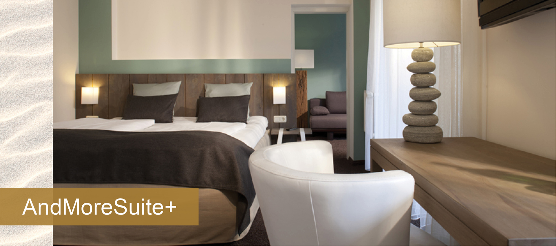 Hotel SAND Timmendorfer Strand in Schleswig Holstein Zimmer rooms and more suite