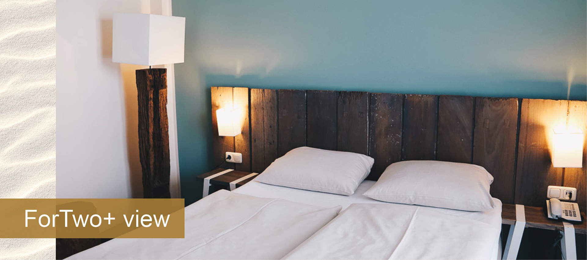 Hotel SAND Timmendorfer Strand in Schleswig Holstein Zimmer rooms for two plus view